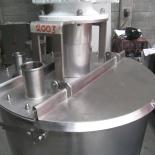 Tank with Sanitary Cover